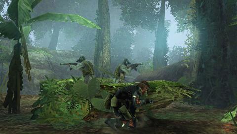 【PSP】《潜龙谍影 和平行者》最新游戏画面若干