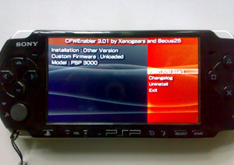 【PSP3000破解】时间的赛跑!PSP3000 M33加载器更新 vs PSP系统版本5.51升级开始