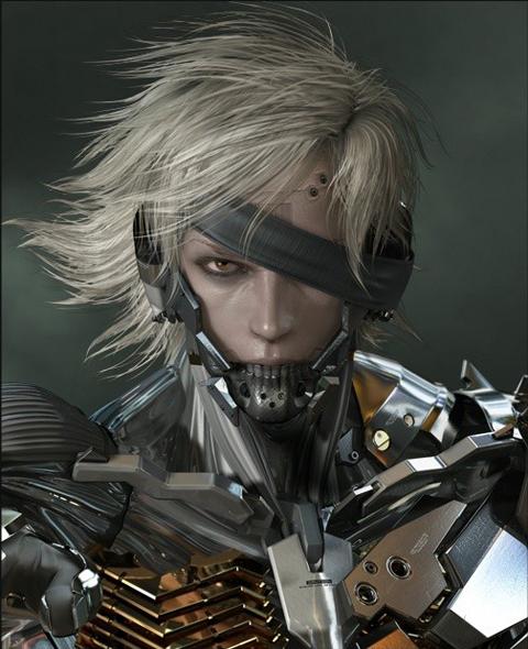 【PS3】《潜龙谍影 崛起》主人公雷电设定原画公布