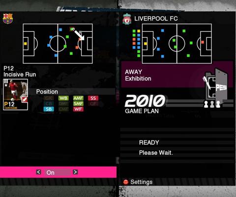 【MUL】《实况足球 2010》新游戏画面公开,队形调整界面图放出
