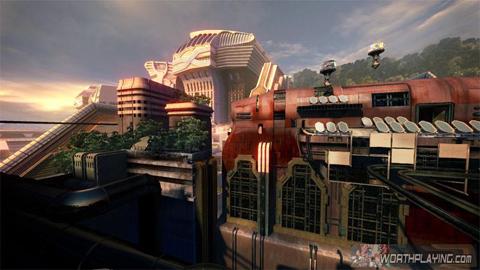 【MUL】《最终幻想13》新游戏场景画面若干