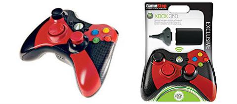 【业界】新款红黑色调Xbox360手柄上市