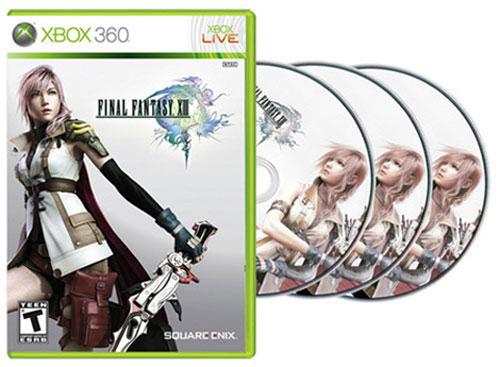 【FFXIII】《最终幻想13》Xbox360版将有3张碟,PS2版《最终幻想13》曾经开发耗时一年