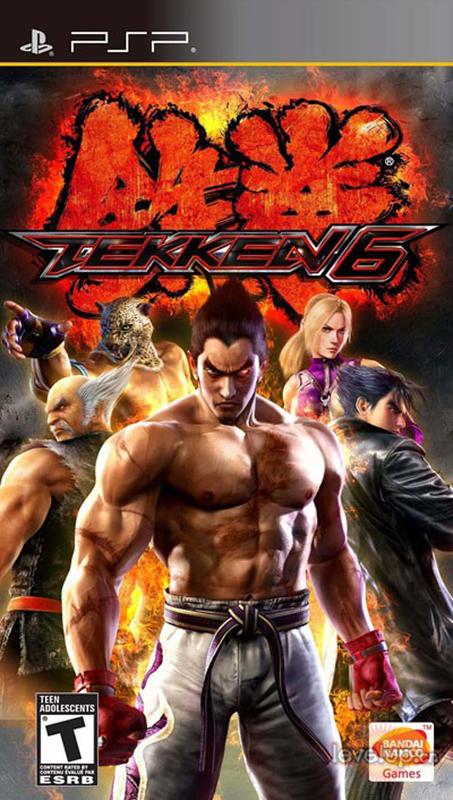 【PSP】《铁拳6》PSP用美版修正版下载