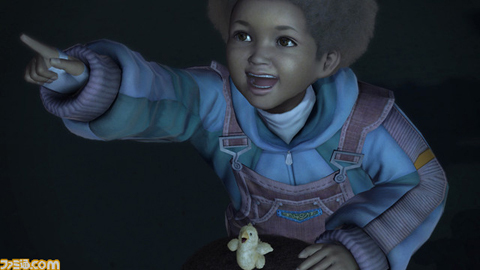 【PS3】《最终幻想13》黑人Sazh的儿子公开