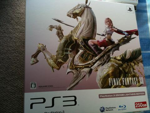 【曝】《最终幻想13》PS3同捆版实体图片若干