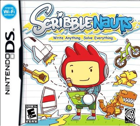 【NDS】E3最佳掌机游戏《Scribblenauts》涂鸦少年下载