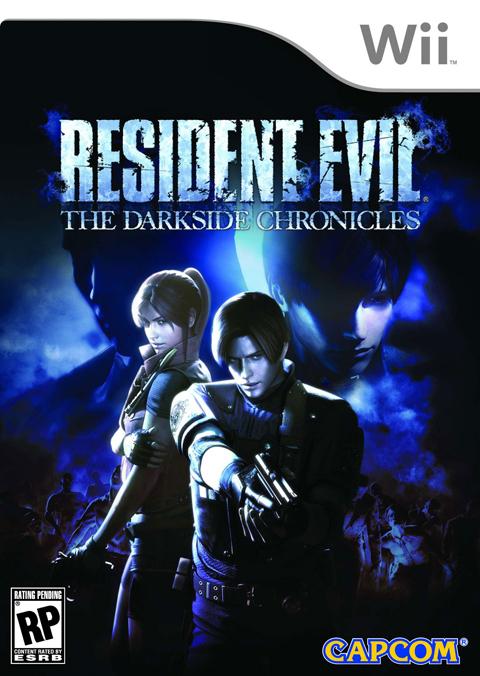 【Wii】《生化危机 暗黑编年史》美版封面公开,神秘黑影出现