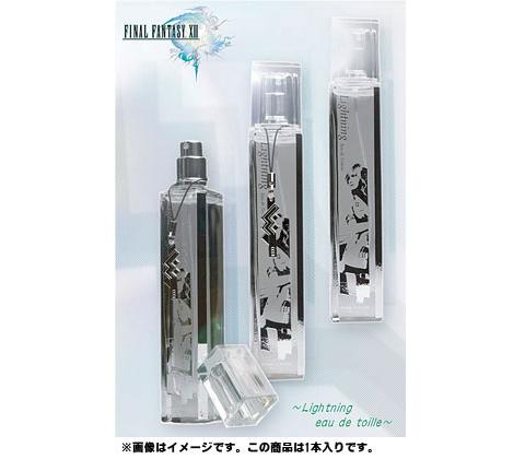 """【PS3】《最终幻想13》圈钱计划之""""闪电""""系列香水公布"""
