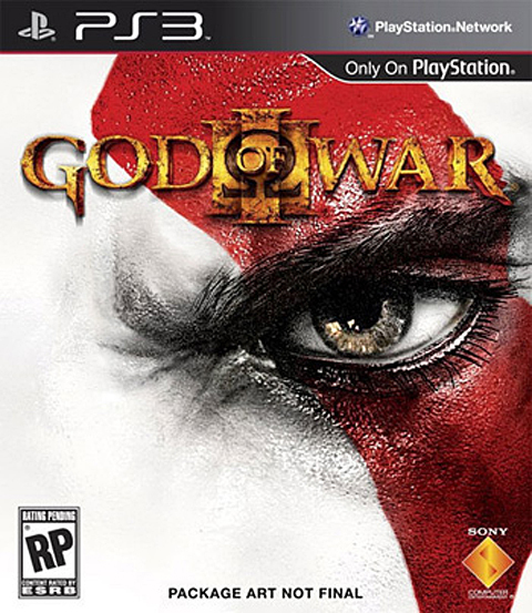 【PS3】这或许是《战神3》美版游戏封面图