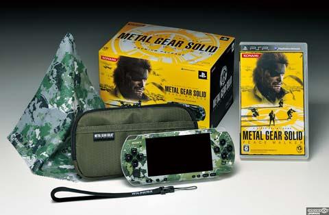 【PSP】《潜龙谍影 和平行者》迷彩PSP同捆套装发售决定