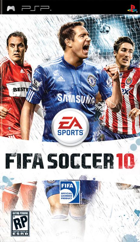 【PSP】《FIFA足球10》欧版下载,5.50可运行