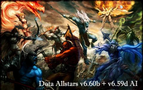 【DotA】Dota Allstars v6.60b 官方中文版下载,v6.59d AI 中文版下载
