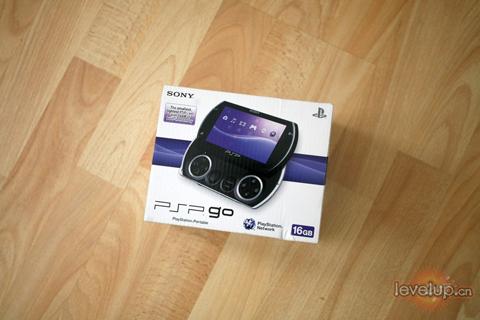 """【PSP GO】索尼""""PSP GO""""实机开箱图"""