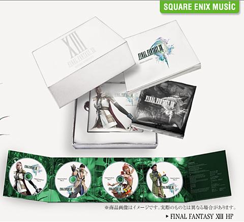 【音乐】《最终幻想13》原声集CD发表,初回版内含原创广播剧