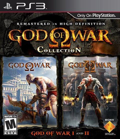 【PS3】《战神 收藏版》PS2版与PS3高清版图片对比
