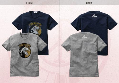 【MGS】《潜龙谍影 和平行者》官网更新官方T恤衫