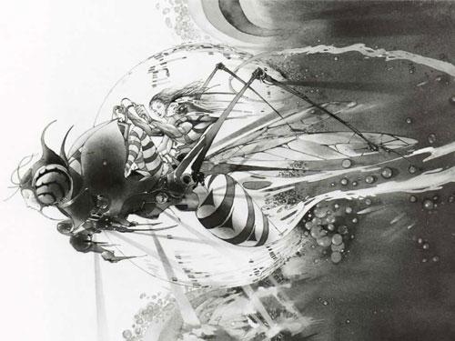 【业界】《最终幻想》系列制作人天野喜孝将指导其首部动画电影《Zan》