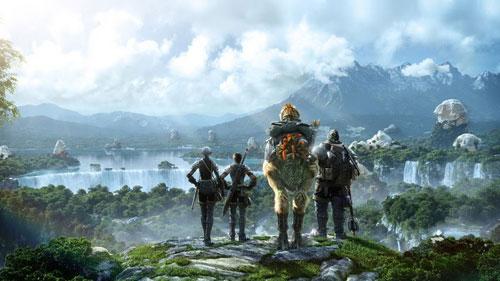 【MUL】《最终幻想14》开发期间游戏运行视频一个