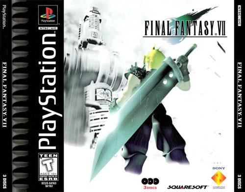 【最终幻想全系列】[PS]《最终幻想7》3CD美版下载