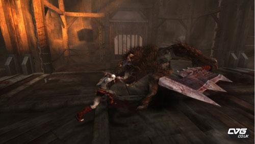 【PSP】《战神 斯巴达之魂》E3 2010公开图片若干+宣传视频、游戏运行视频