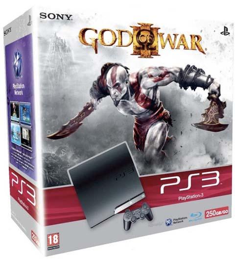 【PS3】《战神3》250G欧洲同捆版公开。