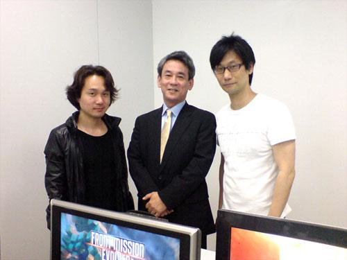 【业界】这个可以有,小岛秀夫与SE新的合作项目确定