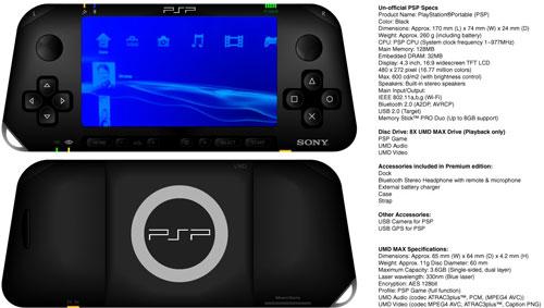 【PSPZ】双摄像头+触摸屏,PSPZ无缘E3 2010公布