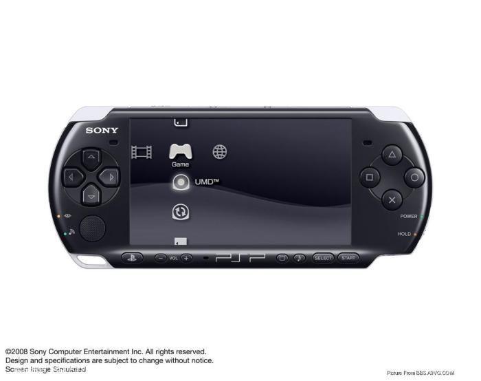 【PSP】新型号 PSP-3000 10 月正式登场 强化液晶屏幕+内置麦克风