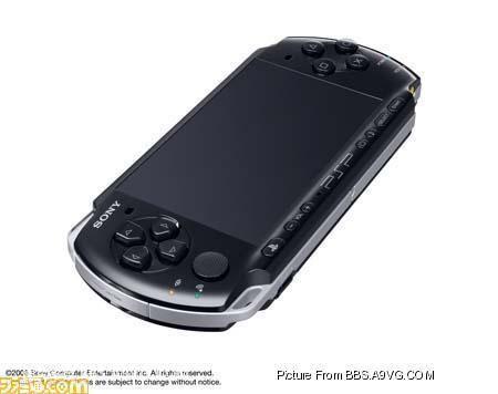 "【PSP】日版""PSP-3000""发售日确定"