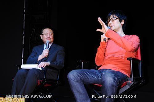 【业界】PLAYSTATION3×KONAMI报道,小岛:暗示MGS新作/因为喜欢而努力