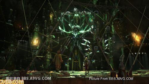 【PS3】《最终幻想13》最新游戏实际战斗画面图