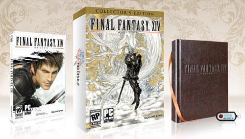 【PC】《最终幻想14》PC限量版详细内容及系统配置要求