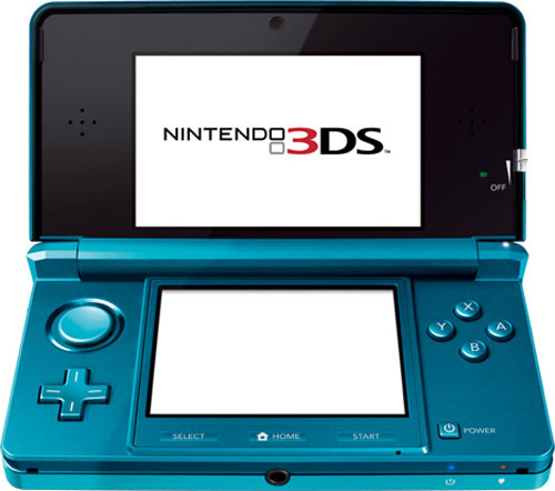 【业界】任天堂3DS与其他携带姬的硬件配置比较