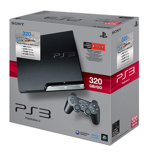 【业界】索尼接下来会发售320GB的新标准型号PS3