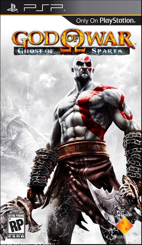 【PSP】《战神 斯巴达之魂》发售日2010年11月2日,预订奖品及限量PSP公布