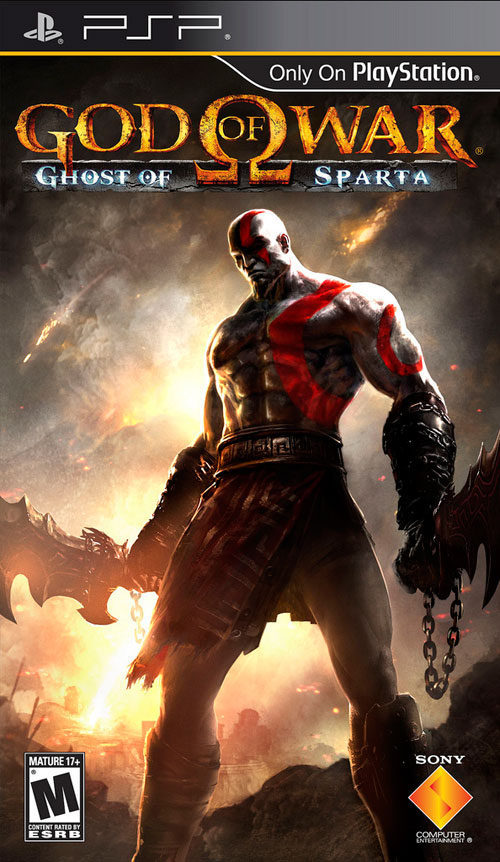 【PSP】《战神 斯巴达之魂》正式封面与限定版细节公布