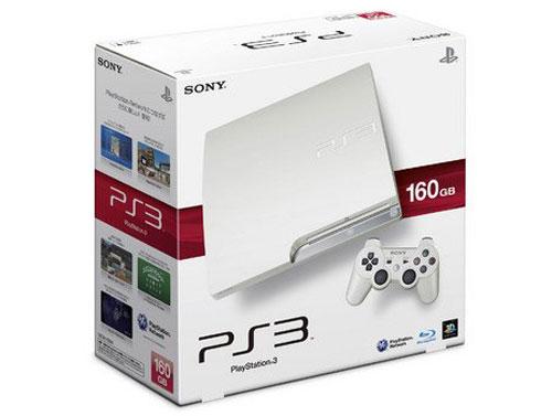 【业界】PS3家族新成员登场,纯白色160GB/320GB新型号主机即将问世
