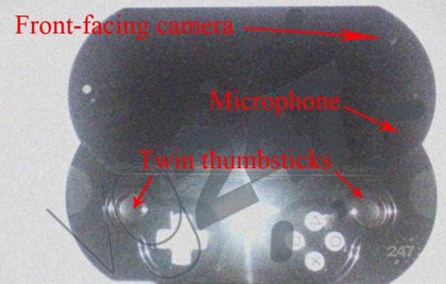 【业界】PSP2开发套件实物图放出,双摇杆+双摄像头+触摸板