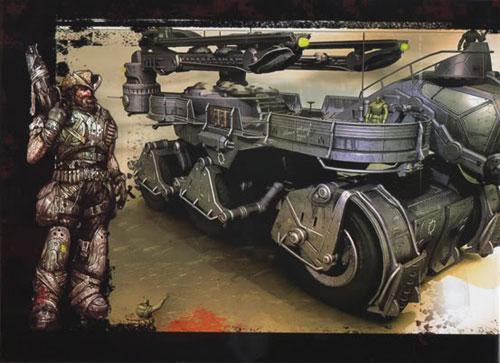 【XBOX360】《战争机器2》限定版特典画集扫描(LIMITED EDITION ARTBOOK)