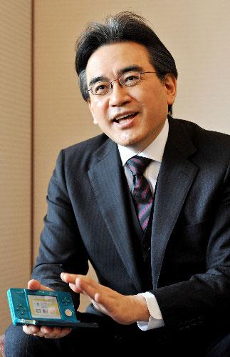 【业界】岩田聪:3DS目标超越DS,目指3亿