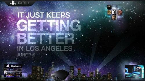 【业界】索尼E3 2011发布会将达到有史以来最长时间5小时