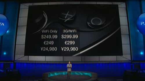 "【E3 2011】索尼正式发表次世代掌机,命名""PlayStation VITA""售价299美元"