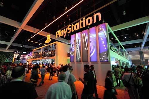 【E3 2011】索尼E3 2011展位报道,全方位展示索尼次世代掌机PSV