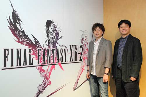 【MUL】SE制作人专访,《最终幻想13-2》将会推出官方中文版