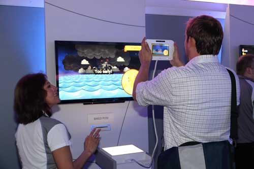 """【E3 2011】任天堂新主机""""Wii U""""试玩报道"""