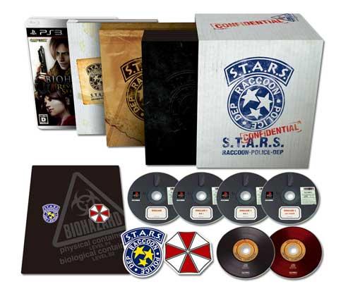 【PS3】生化危机15周年纪念,15th Anniversary BOX发卖决定