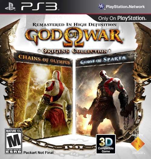 【PS3】PSP两作战神移植PS3,《战神 起源典藏版》9月推出