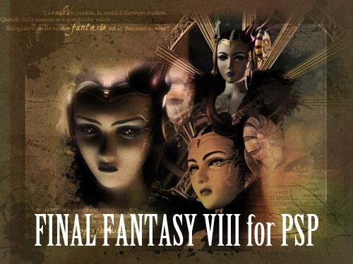 【最终幻想全系列】[PSP]《最终幻想8》美版4盘合一下载