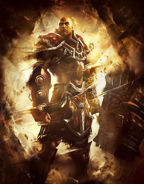 【业界】《战神 升天》部分人设及游戏设定,青年奎托斯登场